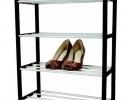 Полка, Стойка, Подставка для обуви, 4 - ярусная фото 3