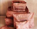 Органайзеры дорожные в наборе 3+3 сумки Оранжевые фото