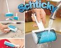 Набор силиконовых щеток - валиков для уборки Schticky фото 1