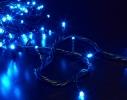 Гирлянда светодиодная LED 100 с черным проводом фото 3