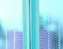 Антимоскитная шторка NOT FLY на сплошном магните 210 x 100 см. Синяя фото 1