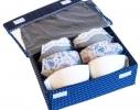 Комплект органайзеров для белья с крышками 4 шт Звездное небо фото 1