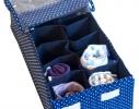 Комплект органайзеров для белья с крышками 4 шт Звездное небо фото 5