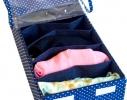 Органайзер для шарфиков/колгот 7 отделений с крышкой Звездное небо фото