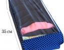 Органайзер для шарфиков/колгот 7 отделений с крышкой Звездное небо фото 2