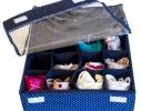 Комплект органайзеров для белья с крышками 3 шт Звездное небо фото 2