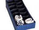 Органайзер для шарфиков/колгот с квадратными ячейками Звездное небо фото