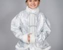 Детский карнавальный костюм Снегурочка фото
