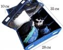 Комбо органайзер для белья с крышкой Звездное небо фото 1