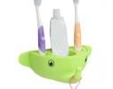 Держатель для зубной пасты и щеток Слоник фото