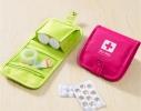 Органайзер-аптечка дорожный розовый фото