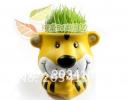 Керамический травянчик с семенами Тигр фото