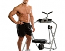 Тренажер для мышц живота Ab Flyer Abdominal Exerciser Abs Toning Crunch Machine Fitness фото