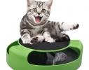 Когтеточка с игрушкой Сatch the mouse Серая фото 1