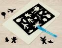 Творческий набор Рисуй светом А3 1 маркер фото 7