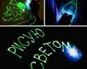 Творческий набор Рисуй светом А3 2 маркера фото 3