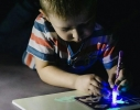 Творческий набор Рисуй светом А3 2 маркера фото 5