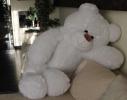 Плюшевый медведь Украина 100 см Белый фото