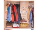 Вакуумный пакет для вещей на вешалке 70х145см фото 3