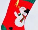 Новогодний носок Аппликация фото 1
