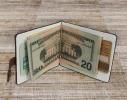 Зажим для денег Барокко Красный фото 1