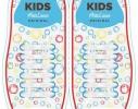 Детские прямые cиликоновые АнтиШнурки для кроссовок и кед, 12шт. (длина: 38мм) фото 4