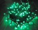 Гирлянда светодиодная LED 100 с черным проводом фото 1