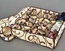 Коробочка на 24 секции c крышкой Молочный Шоколад фото 3