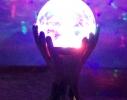Светодиодный шар на подставке