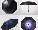 Ветрозащитный зонт обратного сложения UP-brella фото 11