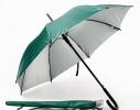 Зонт-трость автомат в чехле Мятный Металлик фото