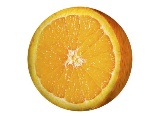 Подушка пуфик Апельсин фото
