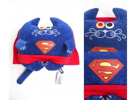 Мягкая игрушка Кот Супермен фото