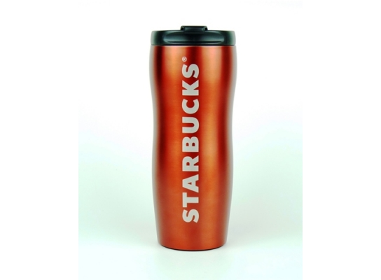 Термокружка Shaped Red 355 мл Starbucks фото