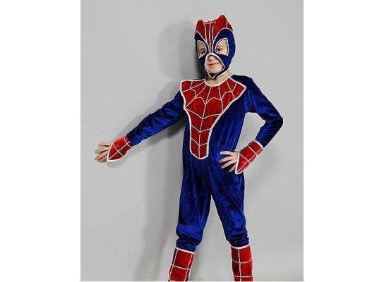 Детский карнавальный костюм Человек Паук фото