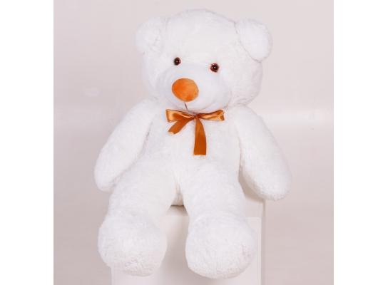 Плюшевый медведь Тедди 100 см Белый фото 2