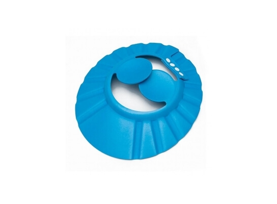 Козырек для купания с ушками Синий фото