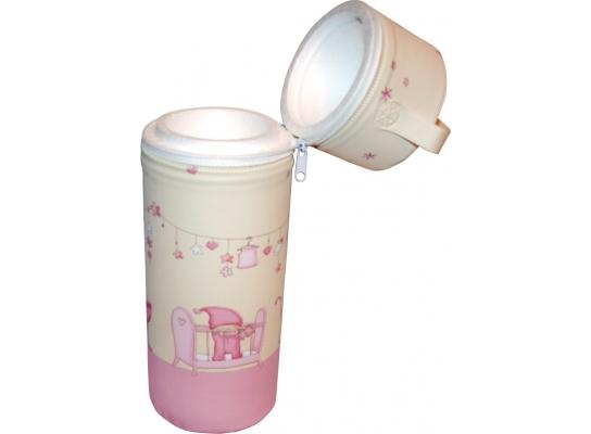 Термоконтейнер для одной бутылочки Розовые сны фото