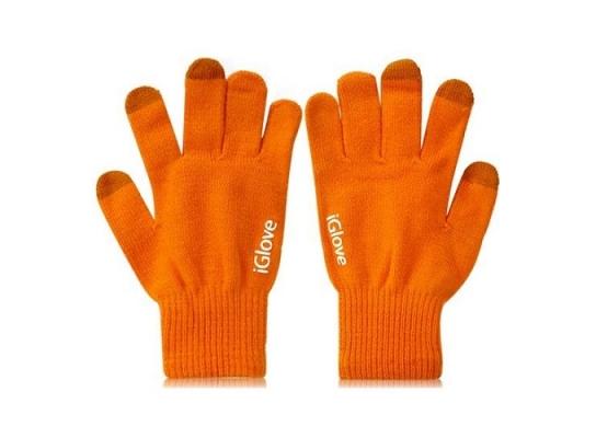 Перчатки для iРhone iGloves Оранжевые фото