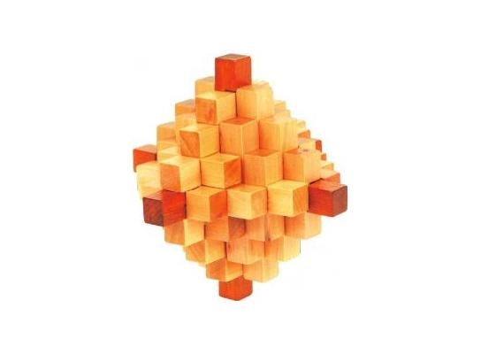 Деревянная головоломка Ромб фото