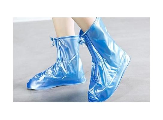 Клонировать Дождевик для обуви Синий фото 2