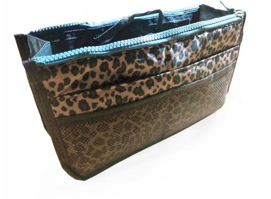 Органайзер для сумочки Bag-in-Bag Леопардовый фото