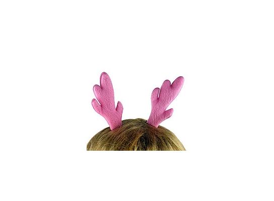 Заколка для волос Ушки Оленёнка Розовые фото