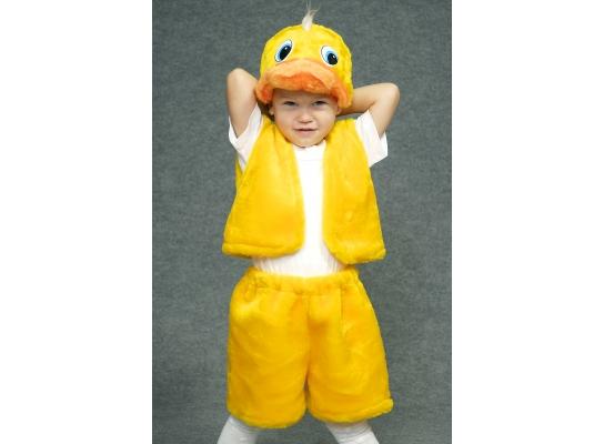 Детский карнавальный костюм Утенок фото