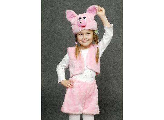 Детский карнавальный костюм Хрюшка фото