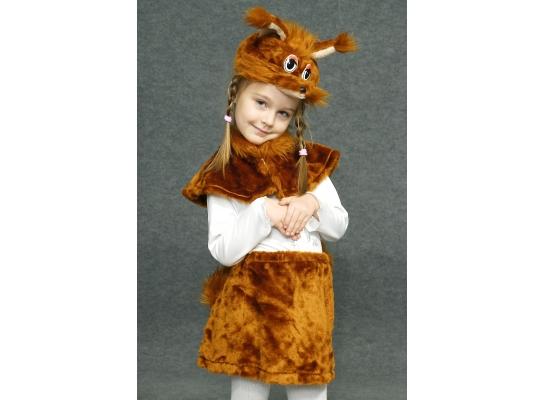 Детский карнавальный костюм Белочка фото
