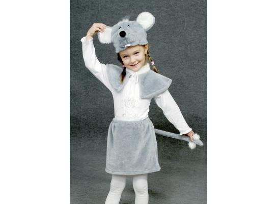 Детский карнавальный костюм Мышка фото