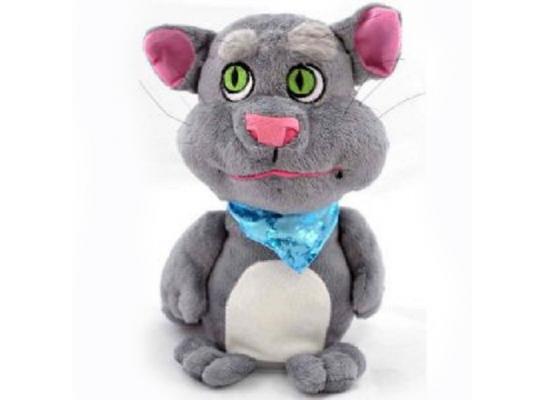 Плюшевый кот Том - повторюшка фото