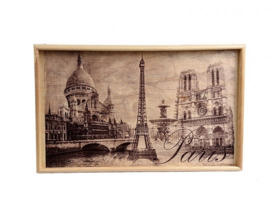 Прикроватный столик на ножках Париж фото