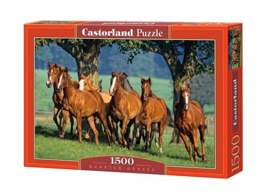 Пазл Стая Лошадей на 1500 элементов фото